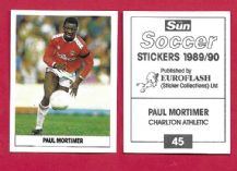 Charlton Athletic Paul Mortimer 45